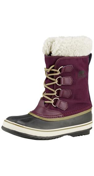Sorel Winter Carnival Boots Women purple dahlia/black